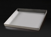 Stainless Steel Salt Block Tray
